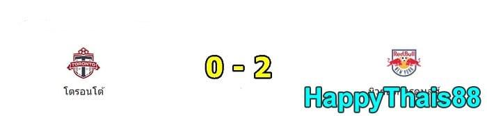 โตรอนโต้ เอฟซี 0 - 2 นิวยอร์ก เร้ด บลูส์